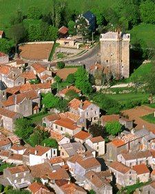 Viala-du-pas-de-Jaux, village templier du Larzac en Aveyron