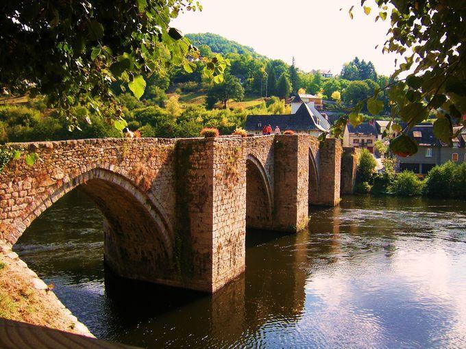 Pont de la Truyere - Entraygues-sur-Truyère - Aveyron