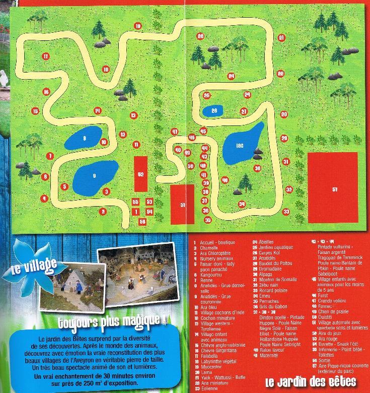Jardin des b�tes � Gages dans l'Aveyron - Zoo et parc animalier � 8mn de RODEZ