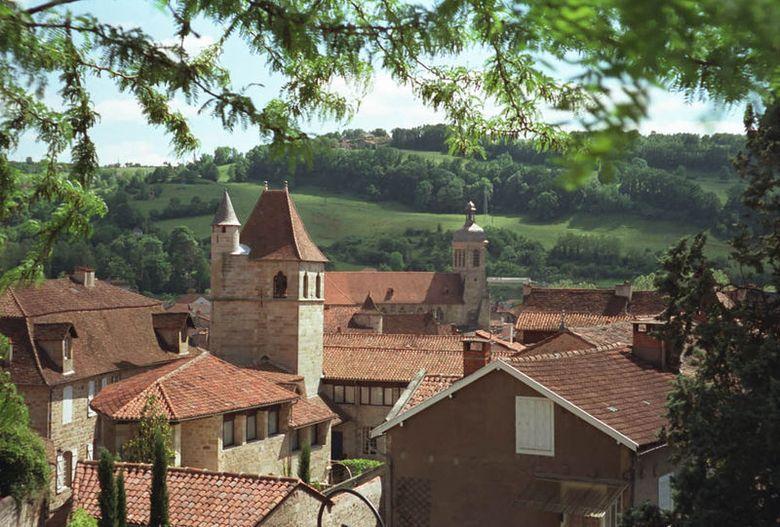 Figeac ville d'art et d'histoire entre vallées du Lot et du Célé
