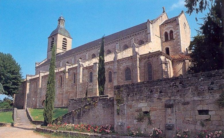 L'église Notre-Dame du Pu de Figeac - Lot