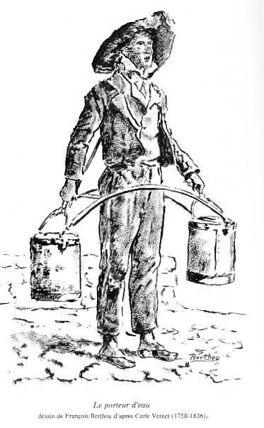 Les Auvergnats porteurs d'eau