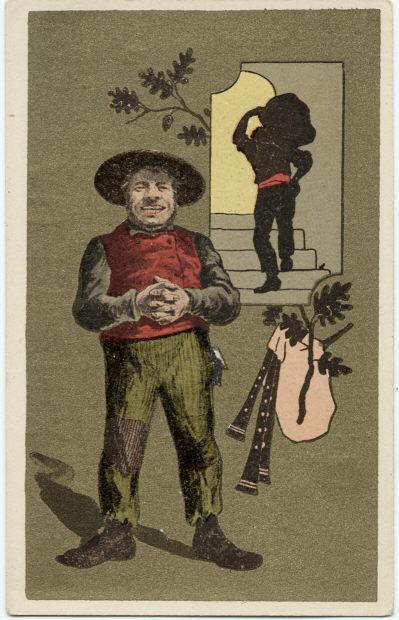 Un bougnat est un immigrant installé à Paris, originaire du Massif central et plus particulièrement du nord de l'Aveyron