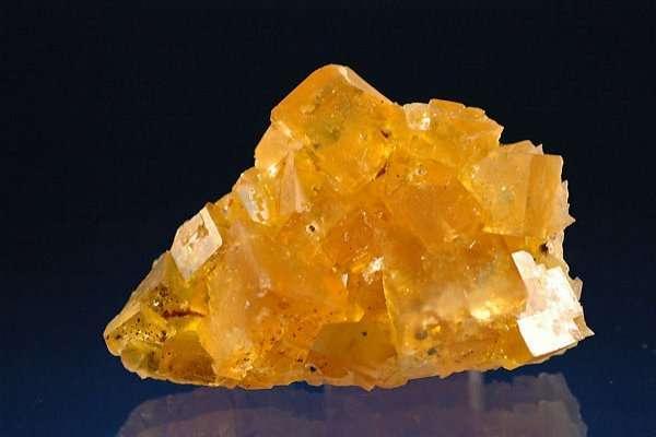 Fluorite jaune-doré