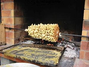 Recette du gâteau à la broche aveyronnais - Tradition aveyronnaise