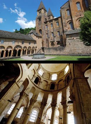 Depuis sa fondation, l'abbaye de Conques n'a cessé d'accueillir des pèlerins, venus de toute l'Europe chrétienne, vénérer les reliques de sainte Foy. Le Livre des Miracles témoigne de cette ferveur populaire