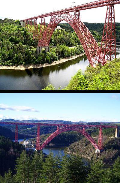 L'homme a domestiqué une partie de son cours, pour les besoins de l'électricité, et on y retrouve des ouvrages tels que le barrage de Grandval, et le célèbre viaduc de Garabit