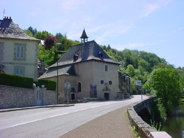 La chapelle Notre Dame du Pontet - Aveyron