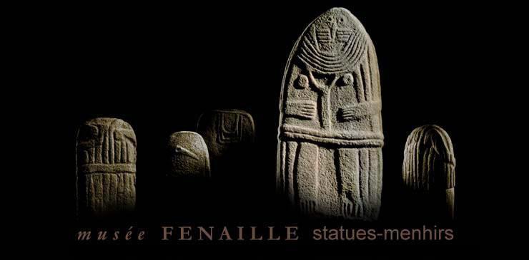 Le Musée Fenaille présente la collection la plus importante de statues-menhirs originales de France.