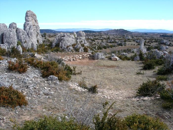 Le Parc naturel r�gional des Grands Causses du Larzac
