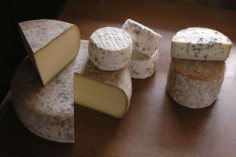 Les fromages fermiers des Grands Causses.