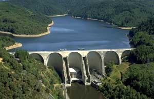 Le barrage hydroélectrique de Grandval