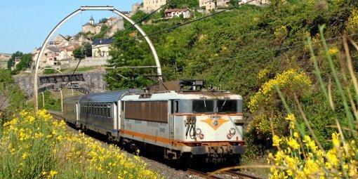 La ligne de Béziers à Neussargues, aussi appelée ligne des Causses.