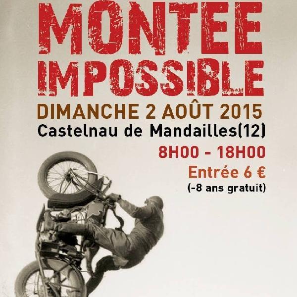 Montée Impossible de Mandailles - Aveyron