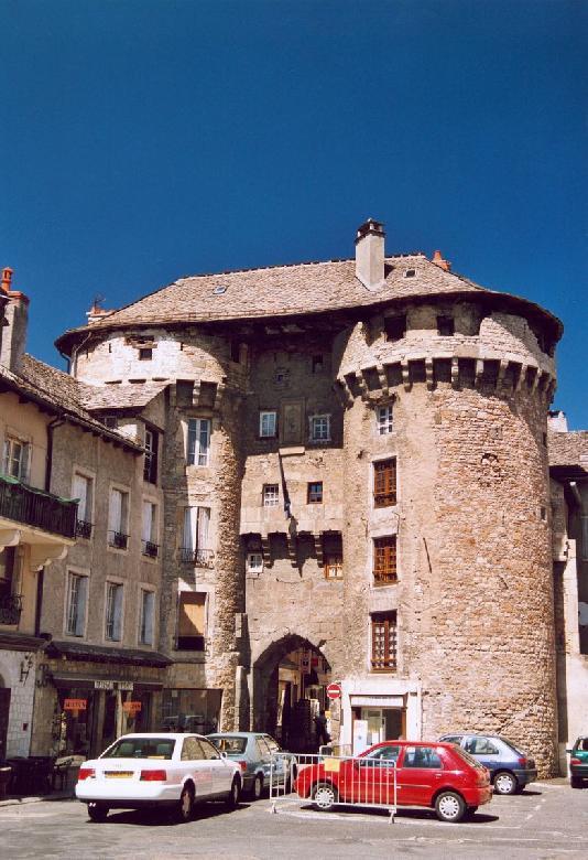 La porte de Chanelle à Marvejols en Lozère