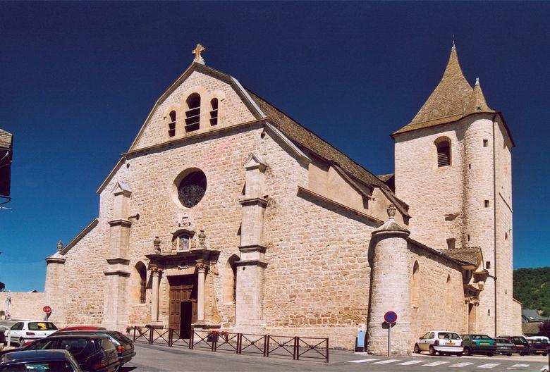 La collégiale Notre-Dame-de-la-Carce (XVIIème siècle) à Marvejols en Lozère