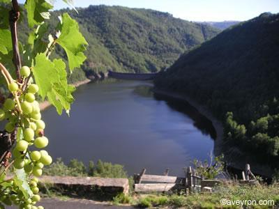Le Carladez est le pays des grands barrages qui se succédent sur ce bel affluent du Lot qu'est la Truyère.