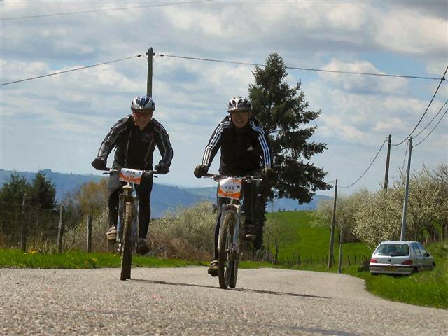 Raid des 2 vallées à Entraygues sur Truyère