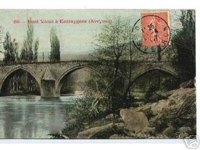 Entraygues - Le pont Vieux - 1907 - Aveyron - France