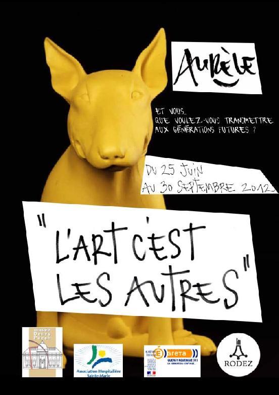 Cet été, la Ville de Rodez accueille l'artiste-plasticien Aurèle pour une exposition/intervention inédite et exceptionnelle.