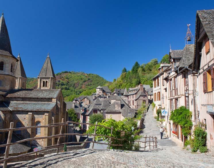 Le village pr�f�r� des fran�ais 2013 - Votez pour Conques