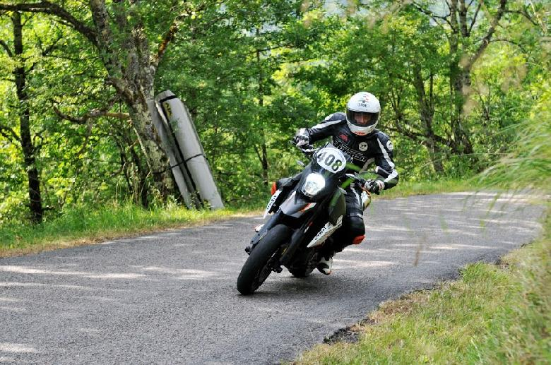 Le Rallye moto du Dourdou à Villecomtal