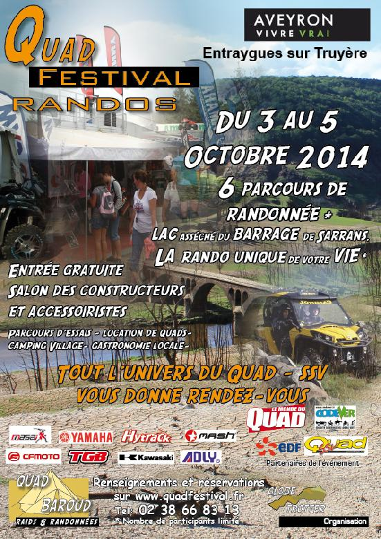 Quad Festival Randos � Entraygues-sur-Truy�re