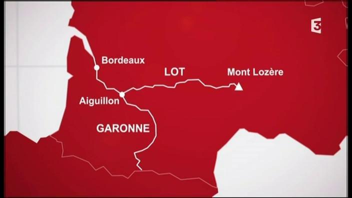 De sa confluence avec la Garonne jusqu'à sa source sur le Mont Lozère, à 1300 mètres d'altitude, un voyage de près de 500 kilomètres permet de découvrir la vie le long du Lot.