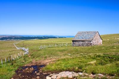 L'Aubrac est un haut plateau volcanique et granitique situé au centre-sud du Massif central.