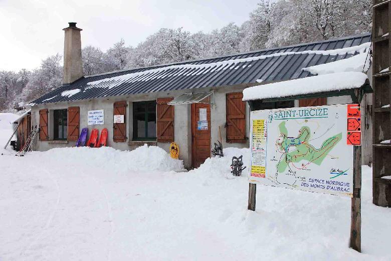 Station de ski de Saint-Urcize en Aubrac
