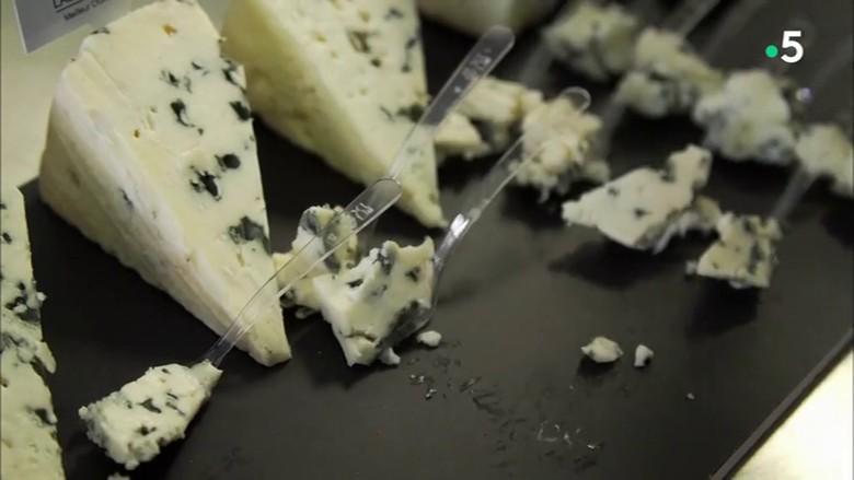 Le roquefort, un des symbole de la gastronomie française, est exporté dans le monde entier.
