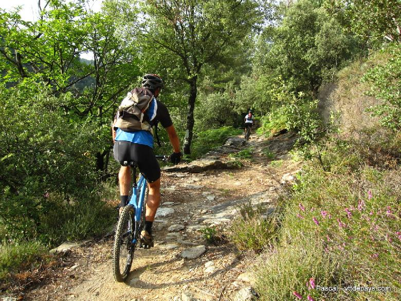 Balades VTT à Entraygues-sur-Truyère en Aveyron