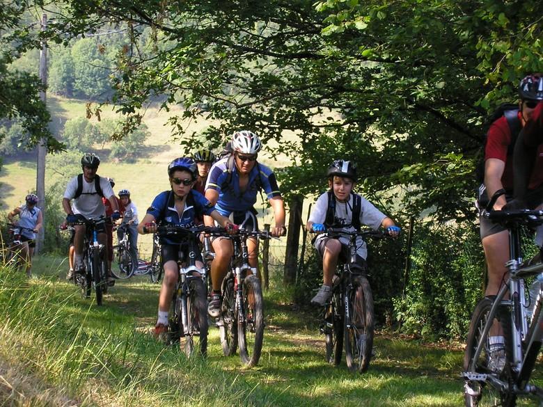 Randonnées VTT à Entraygues-sur-Truyère en Aveyron