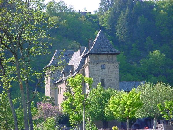 Le château fort d'Entraygues sur Truyère - Aveyron