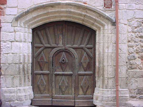 Le portail Valette classé du XVIème - Aveyron