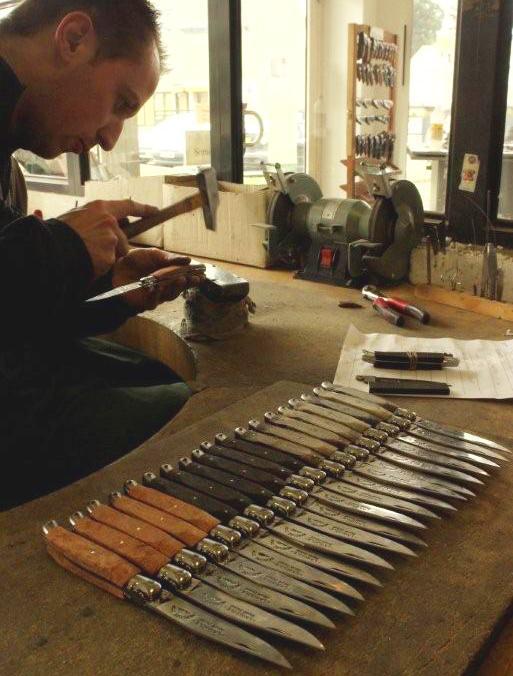 Coutellerie de Laguiole: Fabrication de couteaux Laguiole