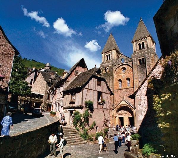 Abbatiale de Conques - Aveyron - France