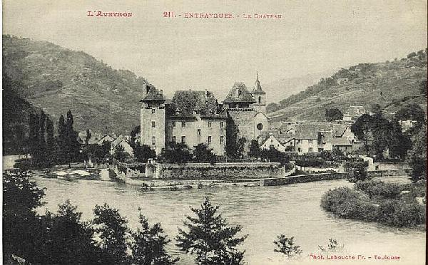 Le château d'Entraygues - Aveyron - France
