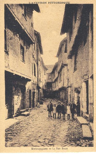 La rue basse - Aveyron - France