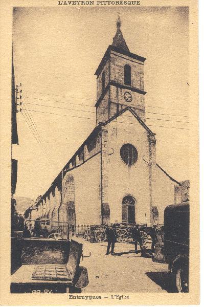L'église d'Entraygues - Aveyron - France