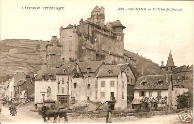 Estaing et son château - Aveyron - France