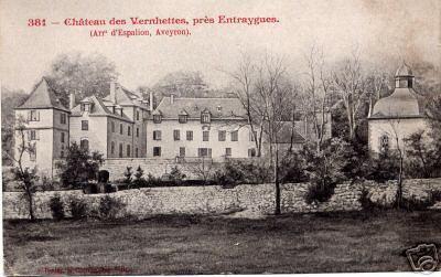 Le château des vernhettes - Aveyron - France