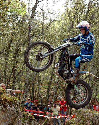 Trial moto - Entraygues-sur-Truyère