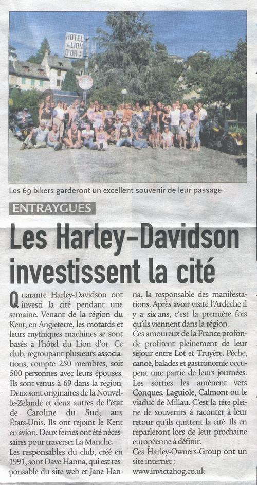 Centre Presse - Actualités hotel du lion d'or - Aveyron - France