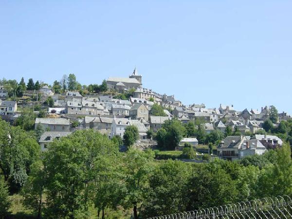 Village de Laguiole - Aubrac - Aveyron - France