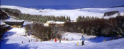 Station de ski - Laguiole - Aveyron -France