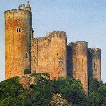 Le chateau forteresse de Najac - Aveyron - France