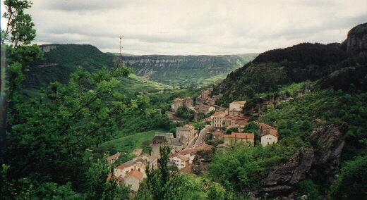 Roquefort sur Soulzon en Aveyron - France