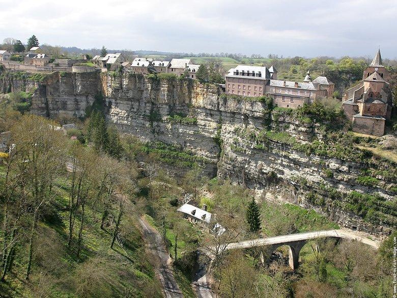 Bozouls en Aveyron