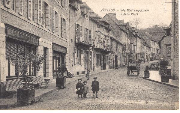 La route de laguiole - Entraygues sur Truyère - Aveyron